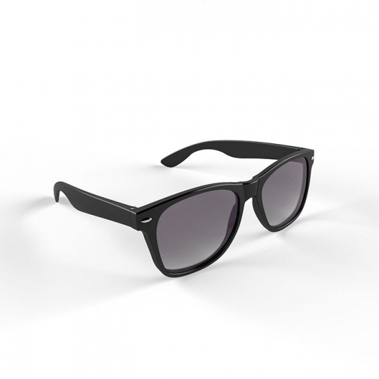 01d8d9bb812b18 Trendy zwart montuur zonnebril bij kerst-artikelen.nl.